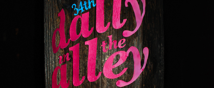 Dally In The Alley Poster