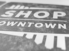 2013 Downtown Detroit Days Letterpress Poster